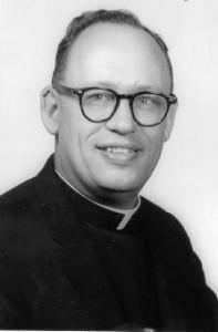 Larry Hein in his priest garb (before he 'met' Missy?)