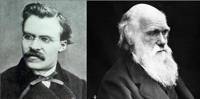 Friedrich Nietzsche . . . . . . . . Charles Darwin