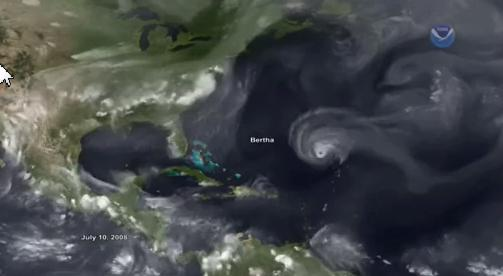 Hurricanes as relational forms in relational flow-plenum